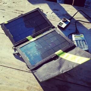 panneau solaire et batterie Goal Zero